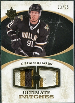 2010/11 Upper Deck Ultimate Collection Ultimate Patches #UJRI Brad Richards /35