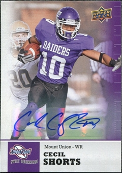 2011 Upper Deck Sweet Spot Autographs #31 Cecil Shorts