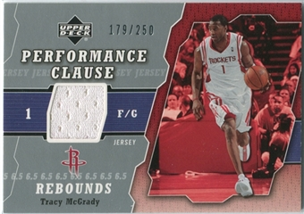 2005/06 Upper Deck Performance Clause Jerseys #TM Tracy McGrady /250