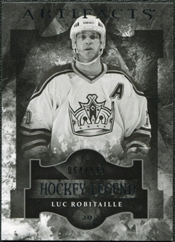 2011/12 Upper Deck Artifacts #112 Luc Robitaille Legends /999