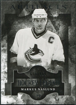 2011/12 Upper Deck Artifacts #120 Markus Naslund Legends /999