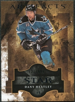 2011/12 Upper Deck Artifacts #127 Dany Heatley Star /999