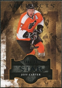 2011/12 Upper Deck Artifacts #131 Jeff Carter Star /999
