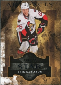2011/12 Upper Deck Artifacts #132 Erik Karlsson Star /999