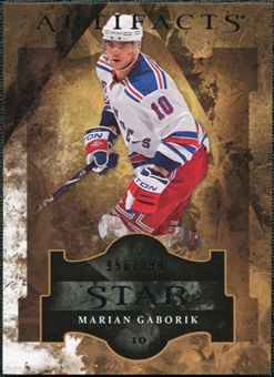 2011/12 Upper Deck Artifacts #133 Marian Gaborik Star /999