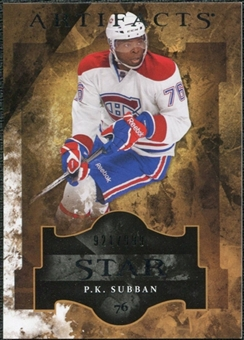 2011/12 Upper Deck Artifacts #140 P.K. Subban Star /999
