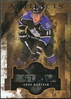 2011/12 Upper Deck Artifacts #141 Anze Kopitar Star /999
