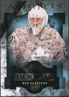 2011/12 Upper Deck Artifacts #193 Ben Scrivens /999