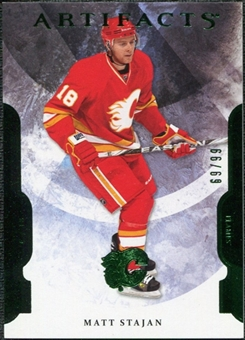 2011/12 Upper Deck Artifacts Emerald #2 Matt Stajan /99