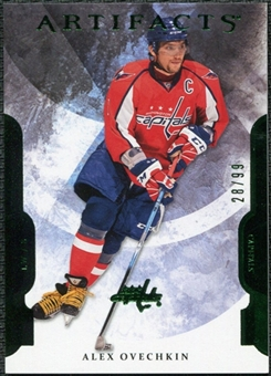 2011/12 Upper Deck Artifacts Emerald #8 Alexander Ovechkin /99