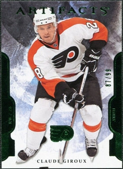 2011/12 Upper Deck Artifacts Emerald #28 Claude Giroux /99