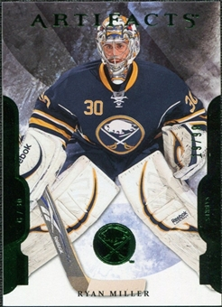 2011/12 Upper Deck Artifacts Emerald #30 Ryan Miller /99