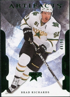 2011/12 Upper Deck Artifacts Emerald #35 Brad Richards /99
