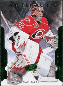 2011/12 Upper Deck Artifacts Emerald #58 Cam Ward /99