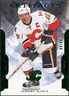 2011/12 Upper Deck Artifacts Emerald #75 Jarome Iginla /99