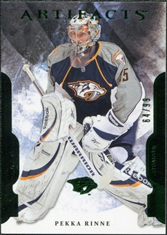 2011/12 Upper Deck Artifacts Emerald #98 Pekka Rinne /99