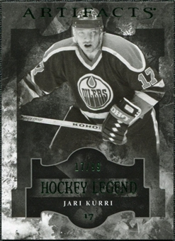 2011/12 Upper Deck Artifacts Emerald #109 Jari Kurri Legends /99