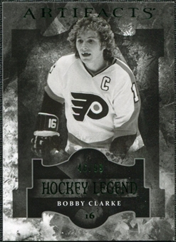 2011/12 Upper Deck Artifacts Emerald #119 Bobby Clarke Legends /99