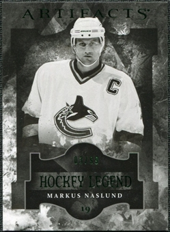2011/12 Upper Deck Artifacts Emerald #120 Markus Naslund Legends /99