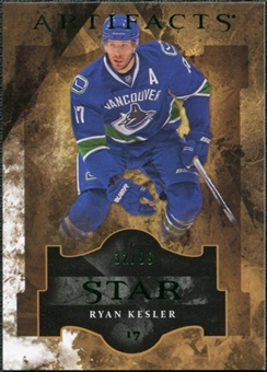 2011/12 Upper Deck Artifacts Emerald #123 Ryan Kesler Star /99