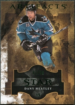 2011/12 Upper Deck Artifacts Emerald #127 Dany Heatley Star /99