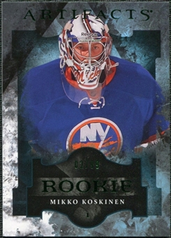 2011/12 Upper Deck Artifacts Emerald #175 Mikko Koskinen /99