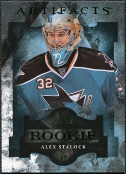 2011/12 Upper Deck Artifacts Emerald #191 Alex Stalock /99