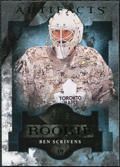 2011/12 Upper Deck Artifacts Emerald #193 Ben Scrivens /99