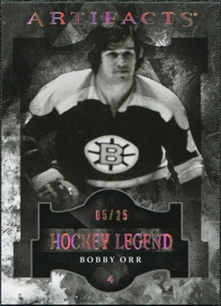 2011/12 Upper Deck Artifacts Spectrum #101 Bobby Orr Legends /25