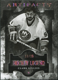 2011/12 Upper Deck Artifacts Spectrum #115 Clark Gillies Legends /25