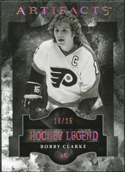 2011/12 Upper Deck Artifacts Spectrum #119 Bobby Clarke Legends /25