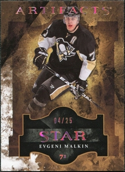 2011/12 Upper Deck Artifacts Spectrum #128 Evgeni Malkin Star /25