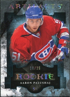 2011/12 Upper Deck Artifacts Spectrum #168 Aaron Palushaj /25