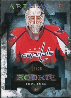 2011/12 Upper Deck Artifacts Spectrum #197 Todd Ford /25