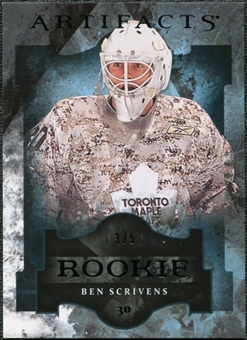 2011/12 Upper Deck Artifacts Black #193 Ben Scrivens RC 3/5