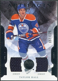 2011/12 Upper Deck Artifacts Jerseys #4 Taylor Hall /125