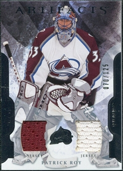2011/12 Upper Deck Artifacts Jerseys #33 Patrick Roy /125