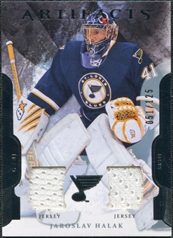 2011/12 Upper Deck Artifacts Jerseys #41 Jaroslav Halak /125