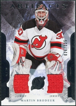 2011/12 Upper Deck Artifacts Jerseys #59 Martin Brodeur /125