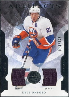 2011/12 Upper Deck Artifacts Jerseys #83 Kyle Okposo /125