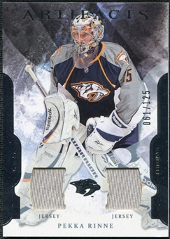 2011/12 Upper Deck Artifacts Jerseys #98 Pekka Rinne /125
