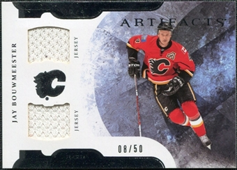 2011/12 Upper Deck Artifacts Horizontal Jerseys #44 Jay Bouwmeester /50