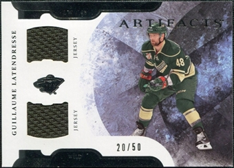 2011/12 Upper Deck Artifacts Horizontal Jerseys #48 Guillaume Latendresse /50
