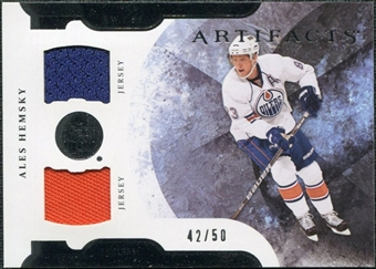 2011/12 Upper Deck Artifacts Horizontal Jerseys #53 Ales Hemsky /50