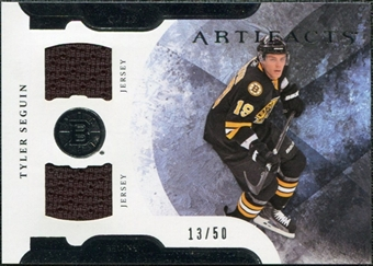 2011/12 Upper Deck Artifacts Horizontal Jerseys #70 Tyler Seguin /50