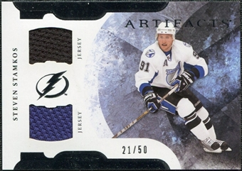 2011/12 Upper Deck Artifacts Horizontal Jerseys #91 Steven Stamkos /50