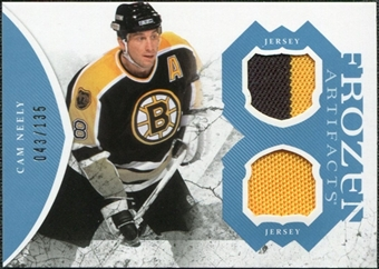 2011/12 Upper Deck Artifacts Frozen Artifacts Jerseys Blue #FACN Cam Neely /135