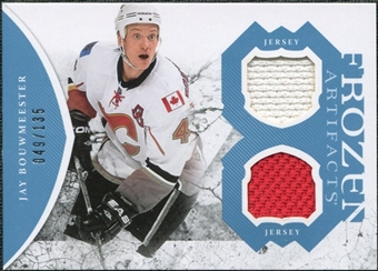 2011/12 Upper Deck Artifacts Frozen Artifacts Jerseys Blue #FAJB Jay Bouwmeester /135