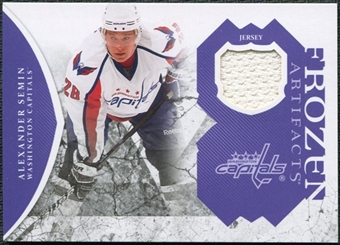 2011/12 Upper Deck Artifacts Frozen Artifacts Jerseys Purple #FAAS Alexander Semin