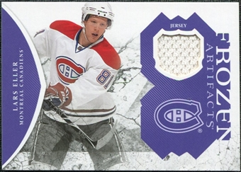 2011/12 Upper Deck Artifacts Frozen Artifacts Jerseys Purple #FALE Lars Eller